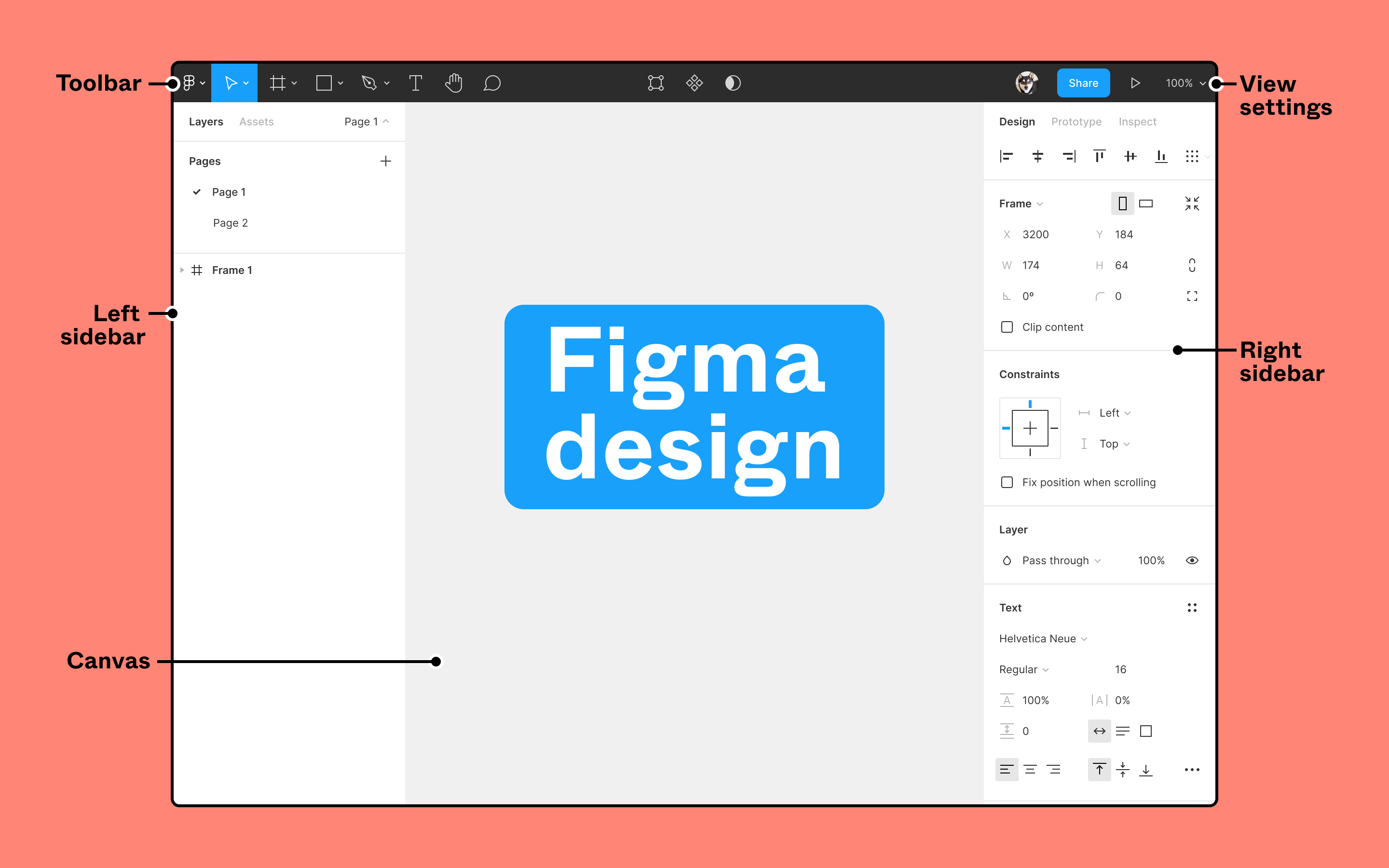 Annotated Figma design file open